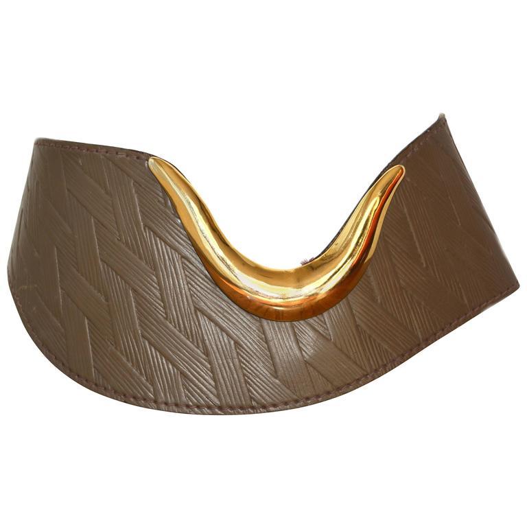 Ugo Correani Leather Belt 1