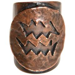 60s Paco Rabanne Copper Ring