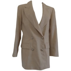 Christian Dior Cordonnes Wool Jacket