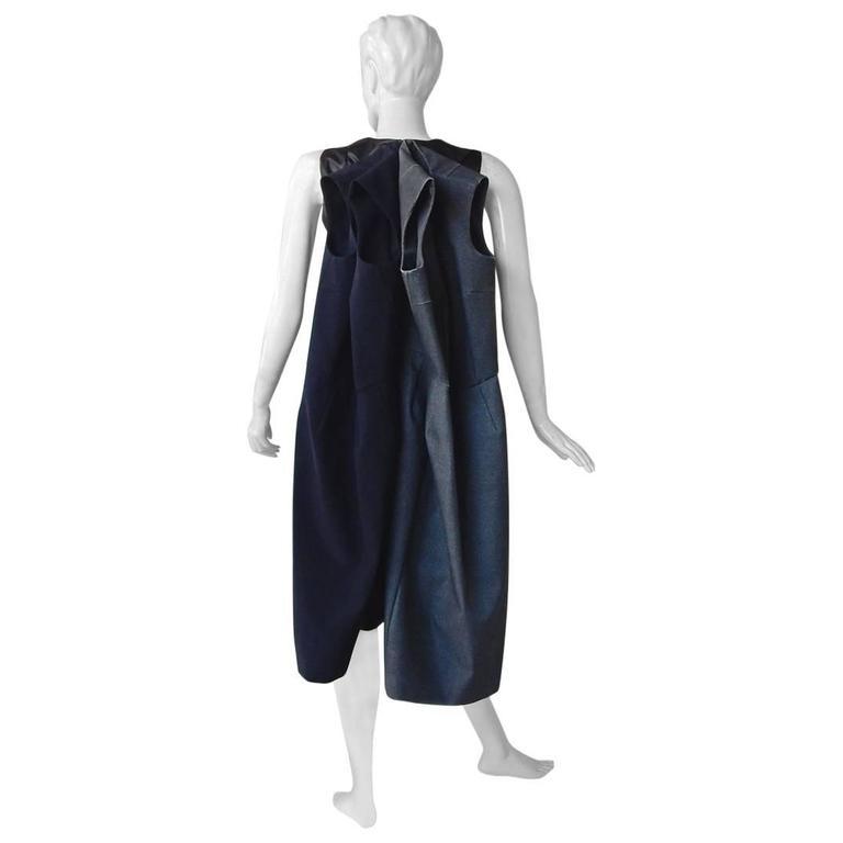 Rare Comme des Garcons 2011 Dimensional 3-Way Dress