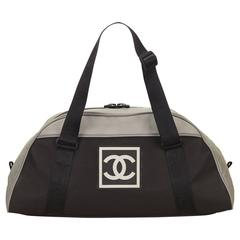 Chanel Gray Sports Line CC Duffel Bag