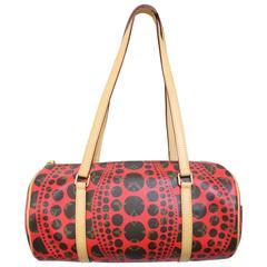 Louis Vuitton x Yayoi Kusama Red Monogram Pumpkin Dots Papillion Bag