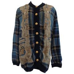 Gibi Roma Blu multicolour Cardigan - Jacket