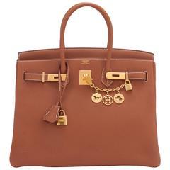 Brown Top Handle Bags