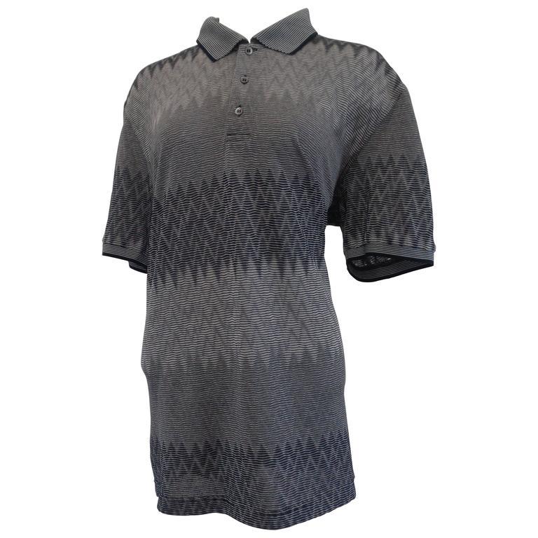 Missoni Grey Cotton Shirt