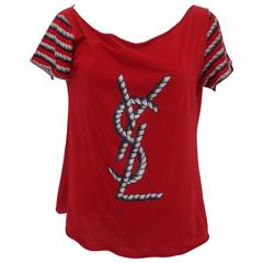 Yves Saint Laurent Red Shirt