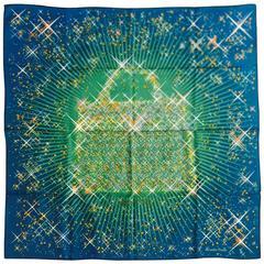 Hermes Magic Kelly Silk Twill Carre by Dimitri Rybaltchenko w Original Tag