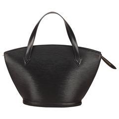 Black Louis Vuitton Epi Saint Jacques Bag