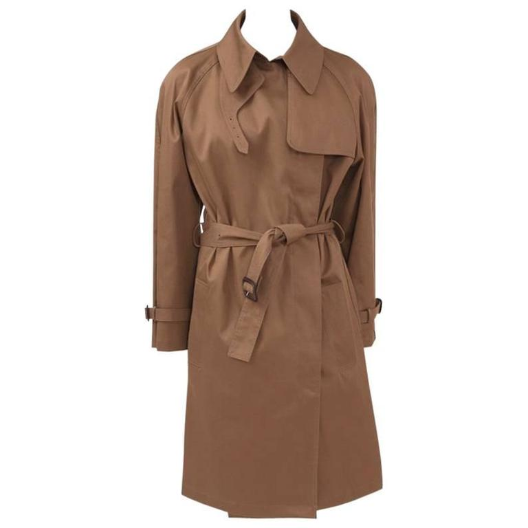 New Hermes By Jean Paul Gaultier Trench Coat, Fall-Winter 2009-2010
