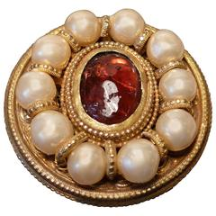 Chanel Vintage Baroque Brooch