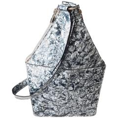 Jean-Paul Gaultier Marbleized Plastic Handbag, 1990s