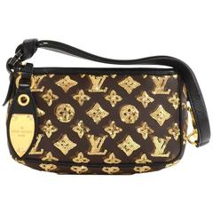 Louis Vuitton Pochette Accessories Eclipse Monogram Canvas Bag