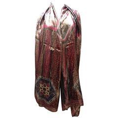 Rare Emilio Pucci Large Silk Sheer Shawl