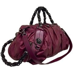 Gorgeous Gucci Metallic Magenta Galaxy Bag
