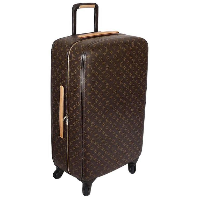 louis vuitton monogram zephyr 70 trolley case suitcase luggage at 1stdibs. Black Bedroom Furniture Sets. Home Design Ideas