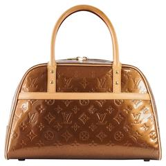 LOUIS VUITTON Bag Monogram Vernis Tompkins Square Satchel