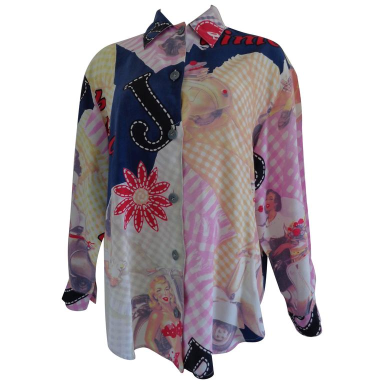 Byblos Blu multicoloured shirt