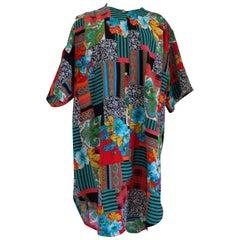 Eventy multicoloured silk shirt