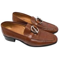 Hermes Tan Women's Loafers