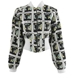 Vintage BOY London 1980's Andy Warhol Bomber Jacket