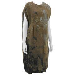 Marni Rust Dye Sleeveless Coat