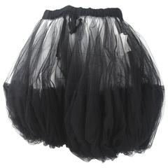Comme des Garcons 2008 Collection Runway Tulle Shorts