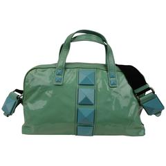 Marc Jacobs Aqua Patent Leather Bag