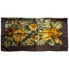 Helen David Eccentrics Silk Twill Scarf (90x90cm)
