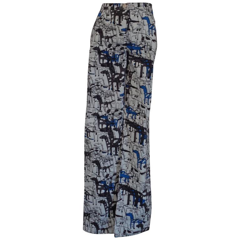 J.C. De Castelbajac Multicolour cotton Trouser NWOT