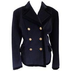 Moschino Cheap & Chic Blu wool Jacket