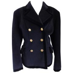 Moschino Cheap & Chic Blu wool Jacket