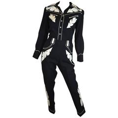 Nathan Turk Rodeo Suit 1959 worn by Terry Tydings