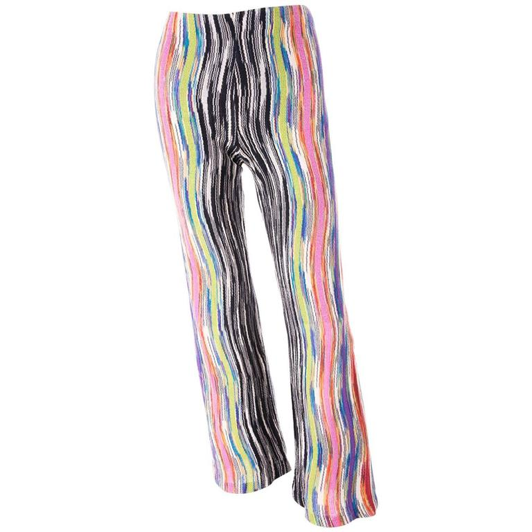 Missoni Flared Knit Pants 1