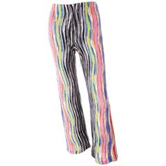 Missoni Flared Knit Pants