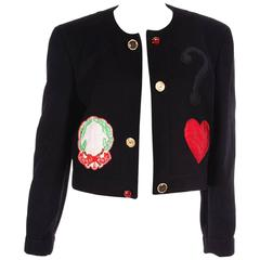 Moschino Cheap and Chic Applique Jacket