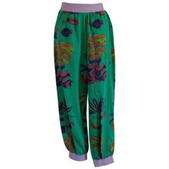 Chervò Green sport cotton Pants