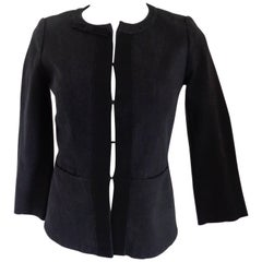 Louis Vuitton Black Cotton Jacket