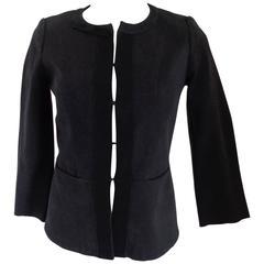 Louis Vuitton Black Cotton Jacket