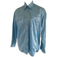 Versace Jeans Couture Light Blu Shirt
