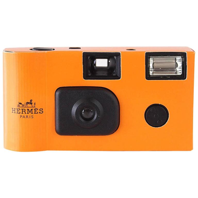 Hermes Camera 2001 VIP Gift Limited Edition Disposable New For ...