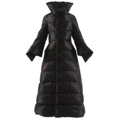 Junya Watanabe Autumn-Winter 2009 black puffer duvet coat dress