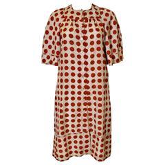 Jean Muir Silk Dress