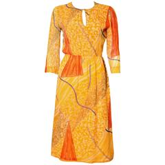 Chanel Creations Silk chiffon Dress