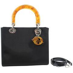 Lady Dior 24 cm Bag wth Shoulder Strap. New never used