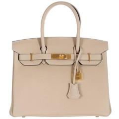 Hermes Birkin 30cm Trench Gold Hardware - New Color