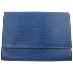 Louis Vuitton Vintage Epi Leather Clutch / Document Holder