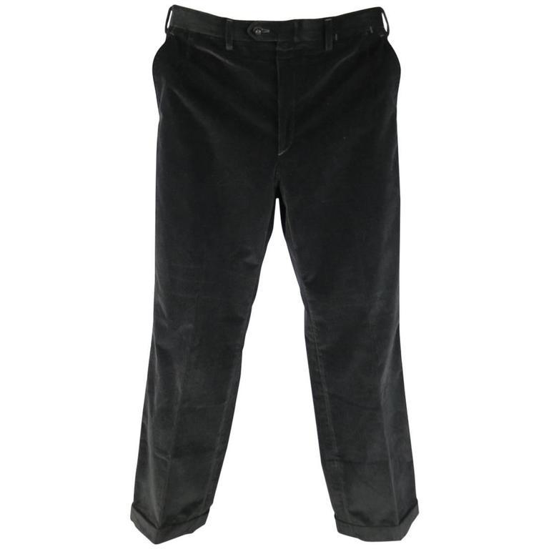 classic cropped trousers - Grey Brioni O108vCU
