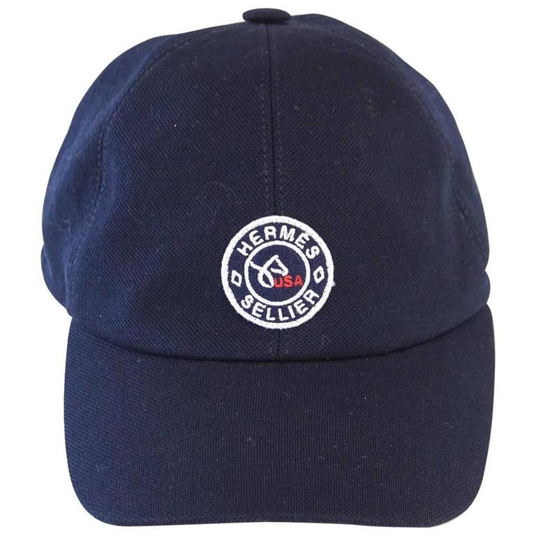 Hermes Hat Limited Edition U S Equestrian Team Cap At 1stdibs