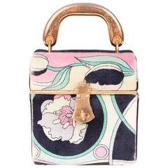 Pucci Velvet Handbag circa 1960s