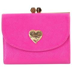 Pink Malabar Saint Laurent Wallet